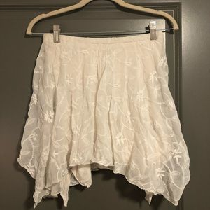 Free people lace strapless top